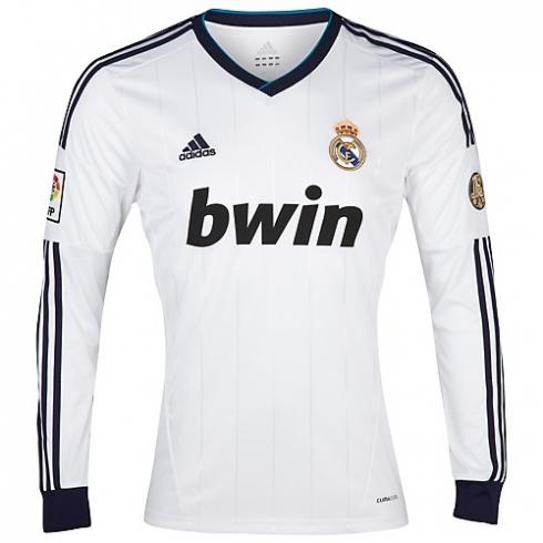 Liga española (LFP) › Camiseta del Real Madrid