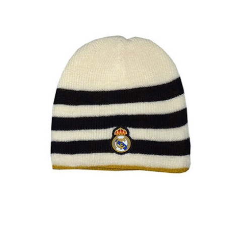 Gorro del Real Madrid Negro/Blanco 2011/2012