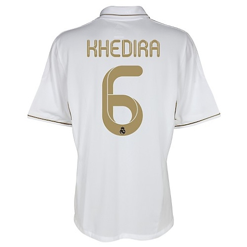 Camiseta de Khedira del Real Madrid 2011/2012