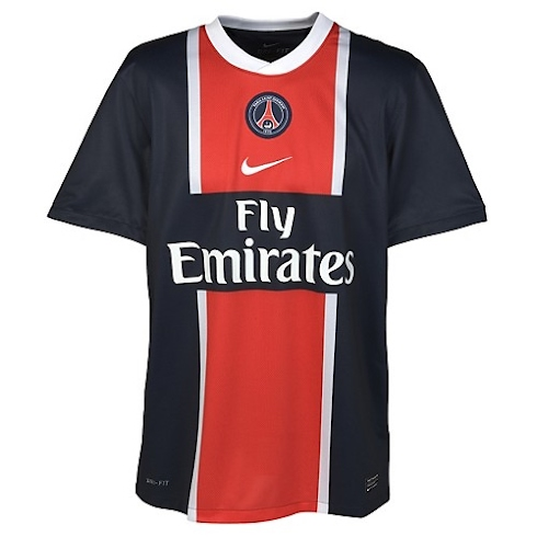 Camiseta del Paris Saint Germain 2011/2012