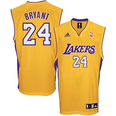 Camiseta de Kobe Bryant de Los Angeles Lakers 2011/2012