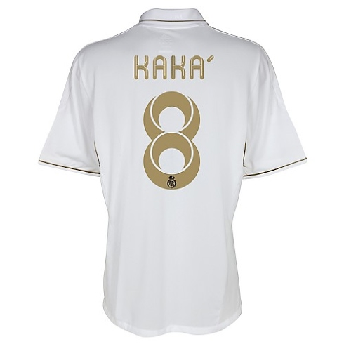 Camiseta de Kaká del Real Madrid 2011/2012