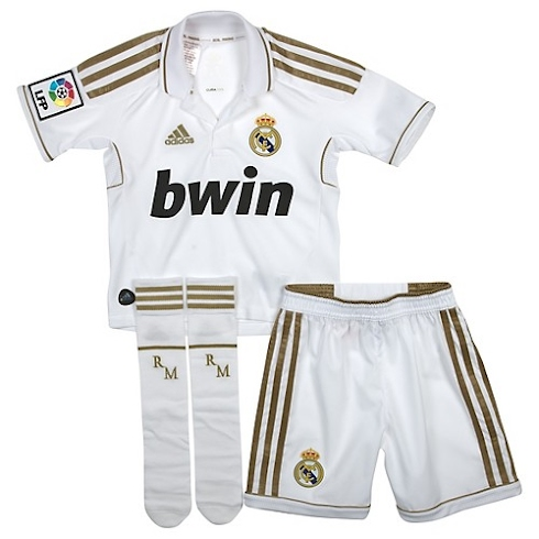 Kit Bebé Real Madrid 2011/2012