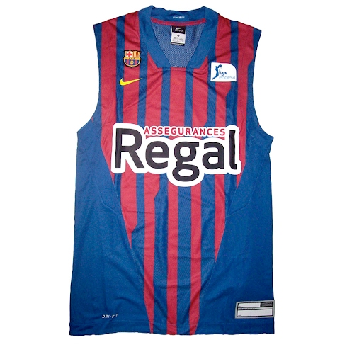 Camiseta de Baloncesto del Regal FC Barcelona 2011/2012