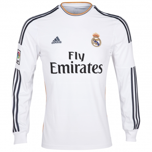 Camiseta Manga Larga del Real Madrid 2013/2014 - EL UTILLERO