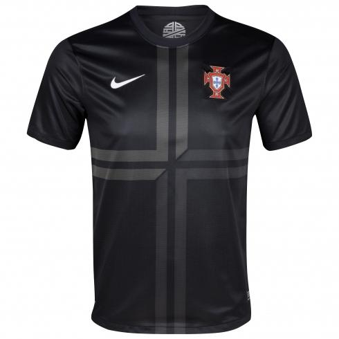 Camiseta de la Selección de Portugal 2013/2014 Segunda Equipación