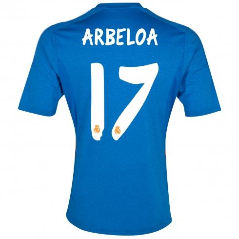 del real madrid para la temporada 2013 2014 camiseta suplente del real
