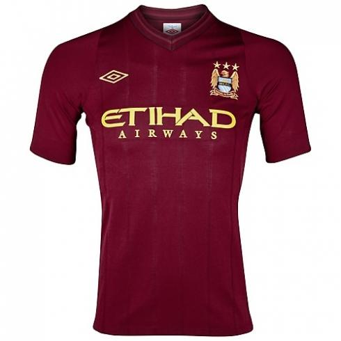 Camiseta Manchester City 2012 2013 Segunda Equipaci  N