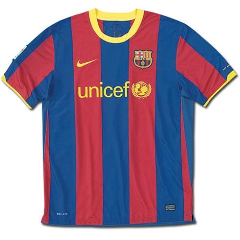 camiseta del fc barcelona temporada 20102011 el utillero